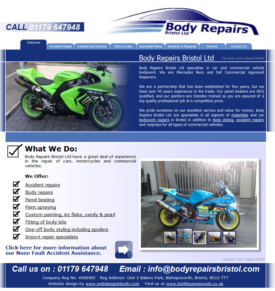 Body Repairs Bristol Ltd